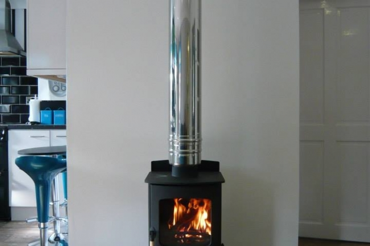 Charnwood C4 with log stand