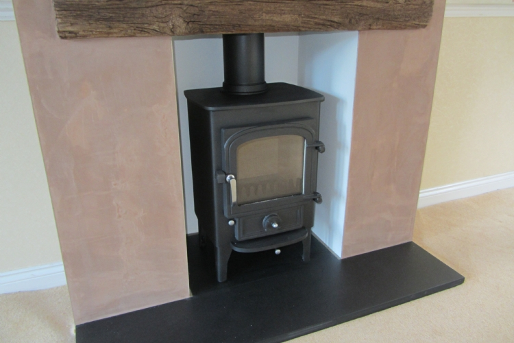 Changing a gas VFC to a woodburning stove