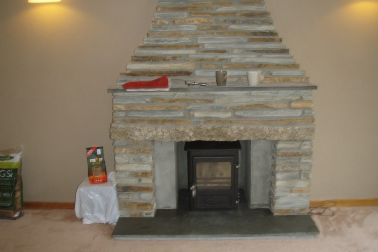 Fitting a Woodwarm fire into a traditional fireplace