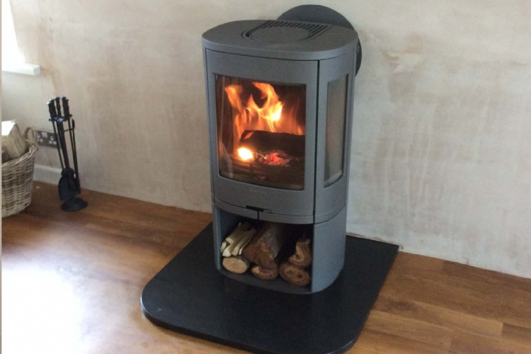 Contura 850 with rear flue