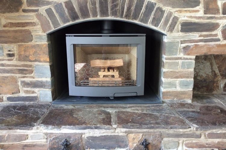 Contura I5 Panorama installed in Cornwall