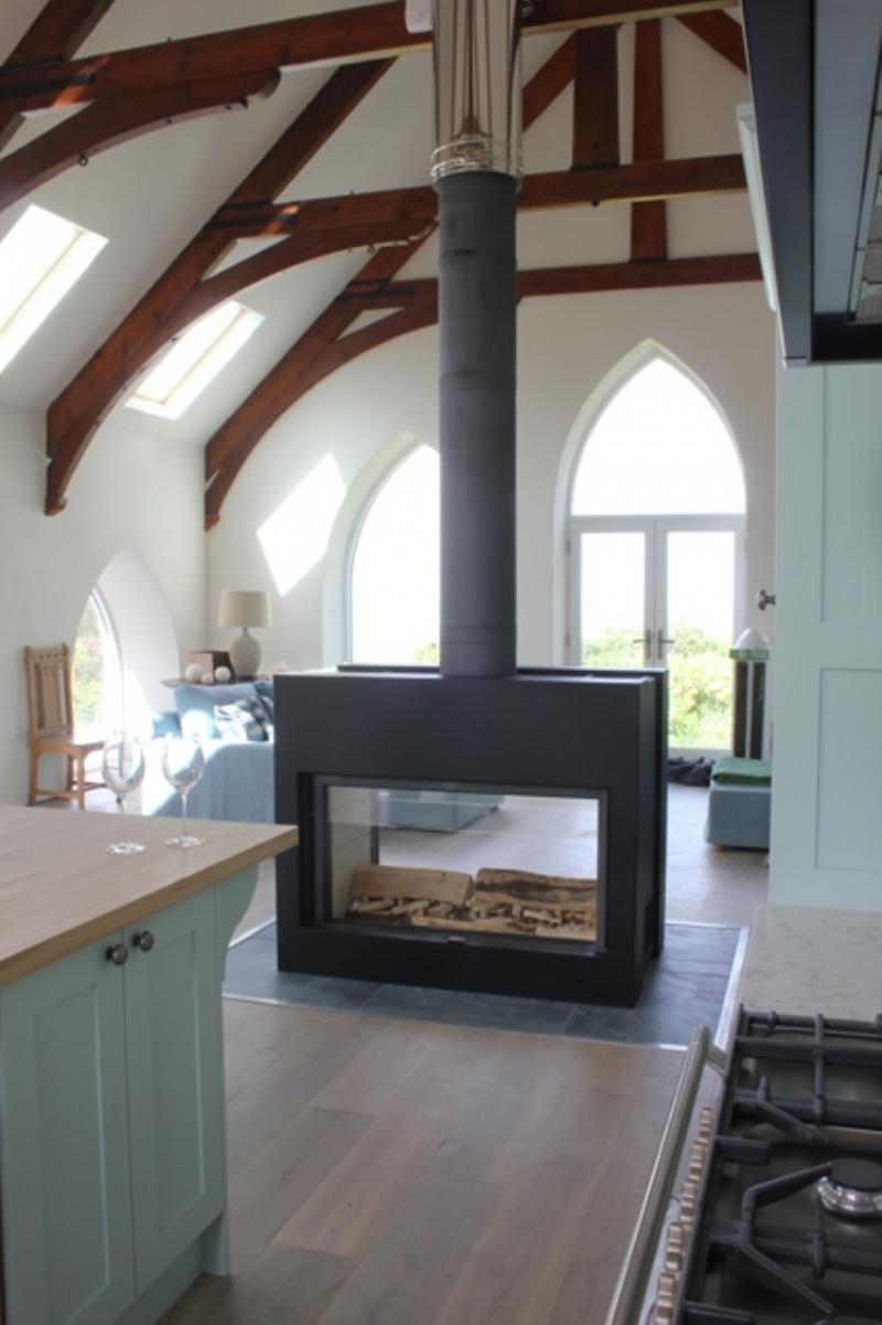 stuv 21 125 double sided bespoke fire wood burning stove
