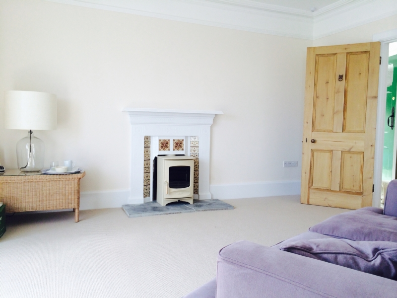 Charnwood C4 in a victorian fireplace