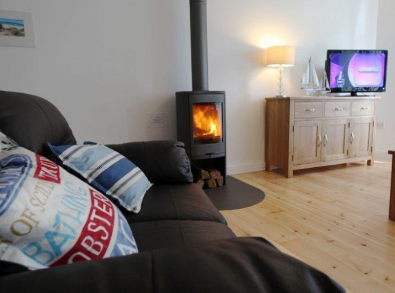 Contura 810 In Grey Wood Burning Stove Installation From