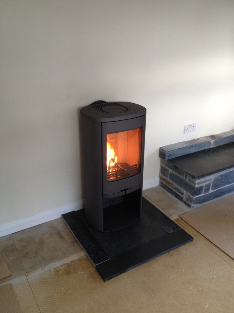 contura 810 on customers hearth wood burning stove. Black Bedroom Furniture Sets. Home Design Ideas