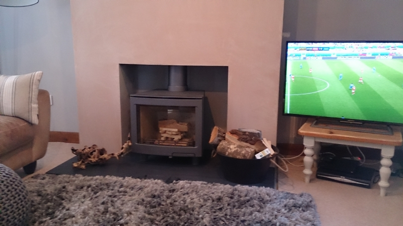 Contura i5L in existing fireplace