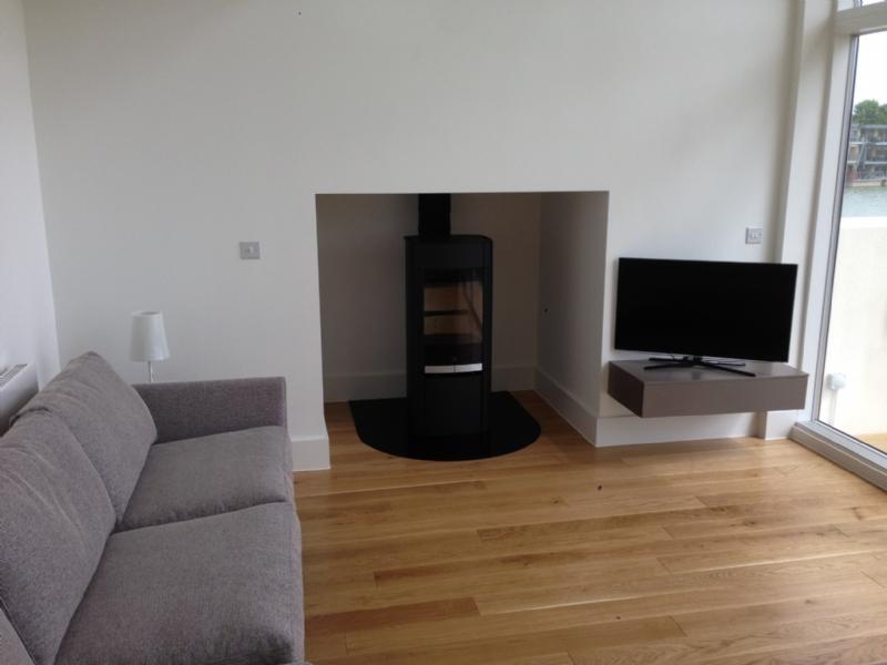 Scan 65 wood burner at Lower Mill Estate