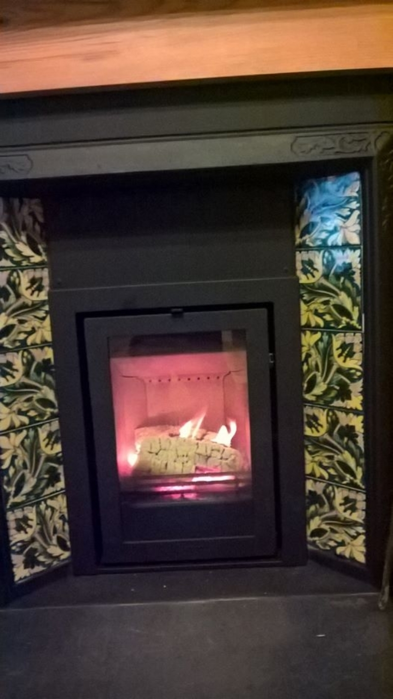 Reviving A Victorian Fireplace Wood Burning Stove