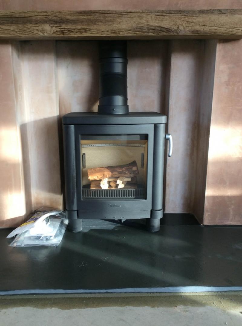 Contura 51L fireplace redesign