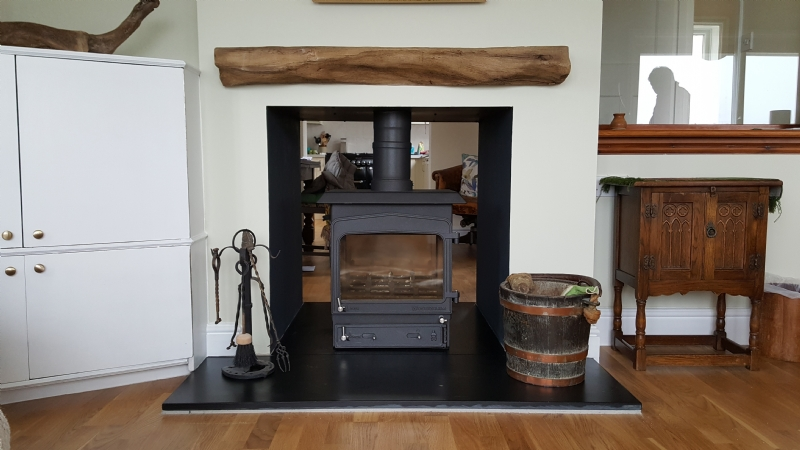 Woodwarm Double Sided Fireview