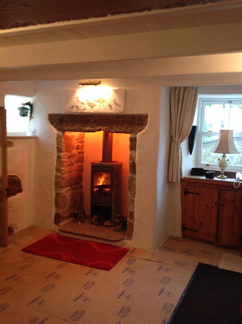 Contura 820 in a Cornish Cottage