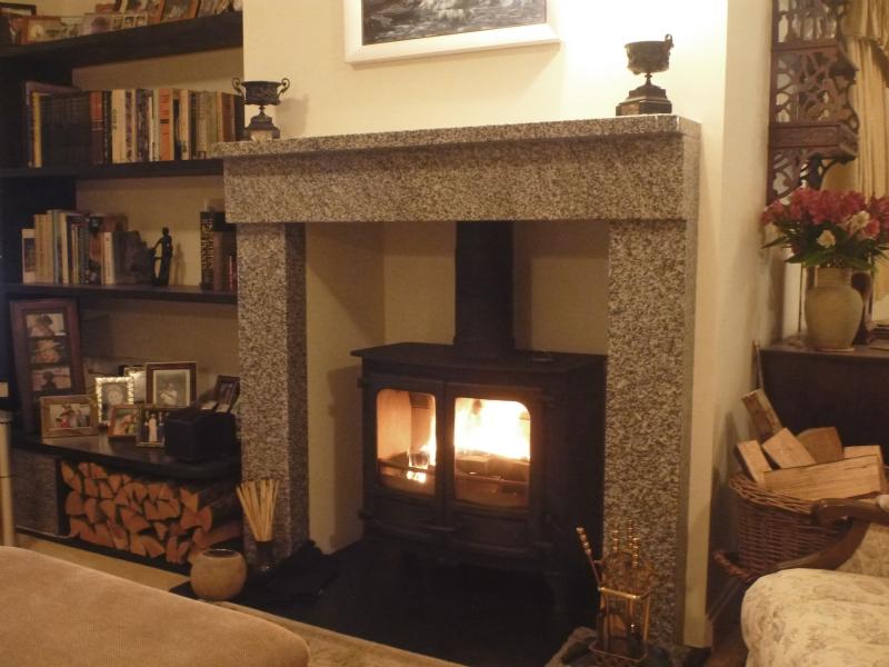 fireplace cornwall Charnwood Island stove Installation Woodburner Cornwall Wadebridge Redruth