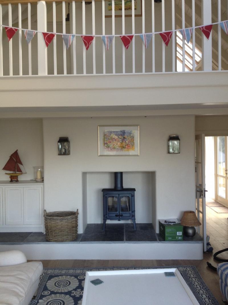 Charnwood Island II Installation Woodburner Cornwall Wadebridge Redruth