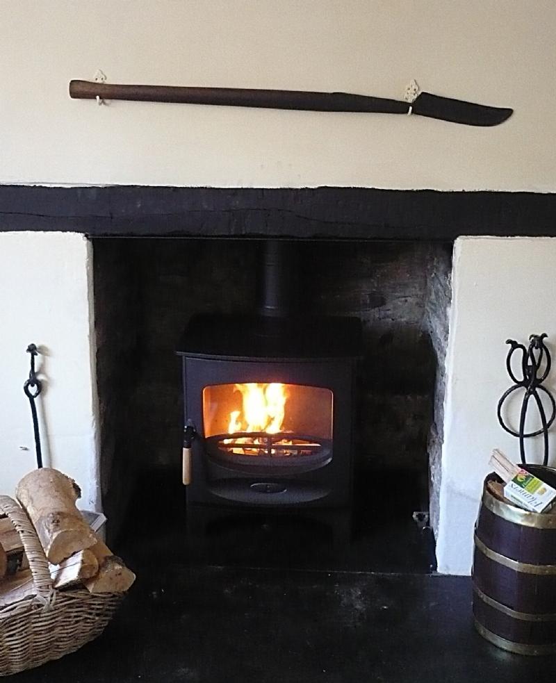 Charnwood C5 Installation Woodburner Cornwall Wadebridge Redruth
