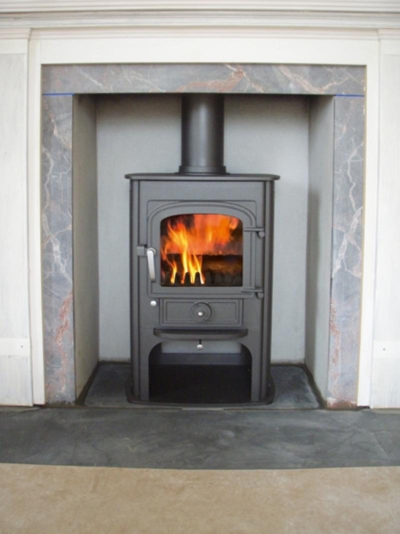Clearview Solution 400 Stove Woodburner Installation Cornwall Wadebridge Redruth