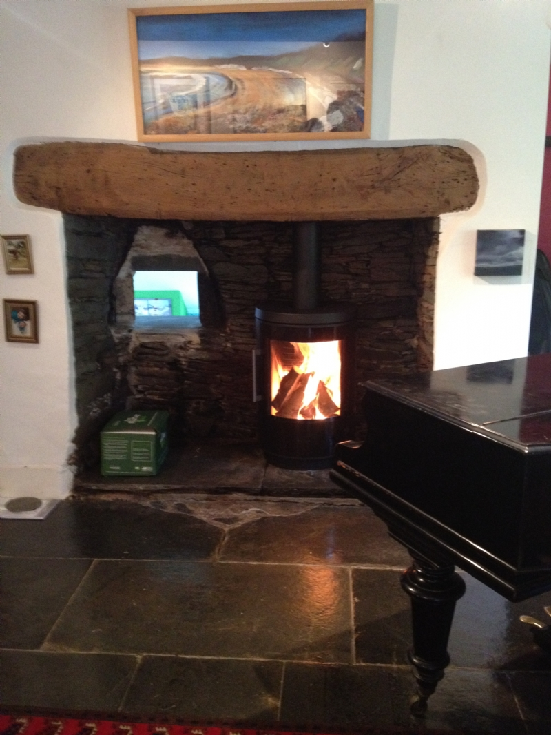 Hwam 3610 Installation Wood Burning Stove Installation