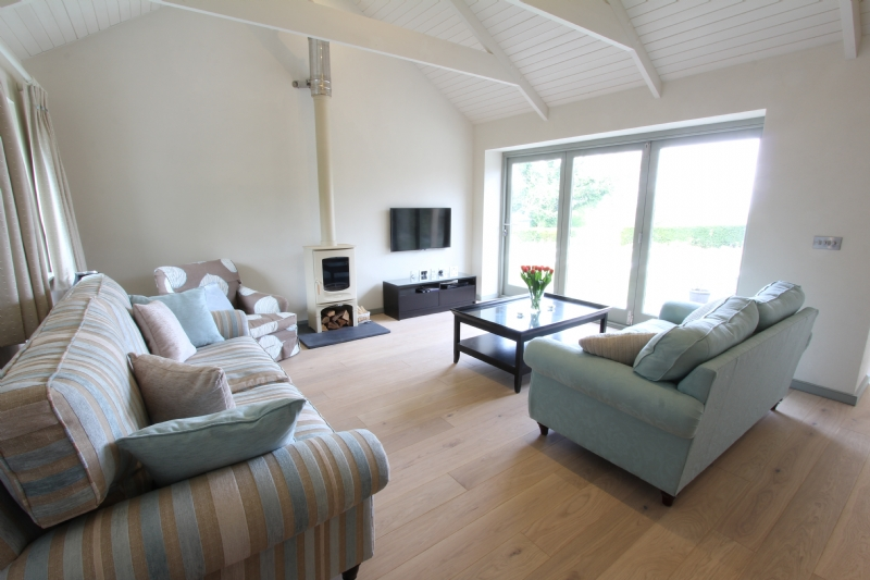 fireplace cornwall Charnwood C4 in Hope House from harbour Holidays Installation Woodburner Cornwall Wadebridge Redruth