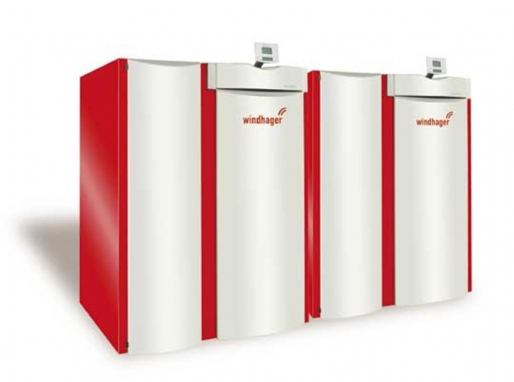 Windhager BioWIN Kaskade Biomass pellet boiler