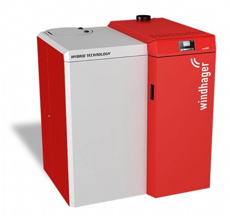 Windhager boimass pellet and wood boiler