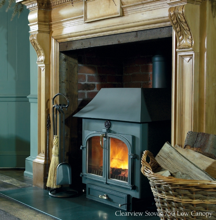 Clearview stoves cornwall Clearview 750 Woodburner Cornwall Wadebridge Redruth