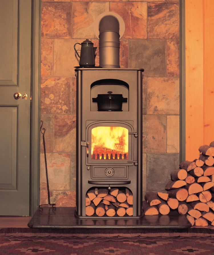 Clearview Pioneer Oven Woodburner Cornwall Wadebridge Redruth fireplace corwnall