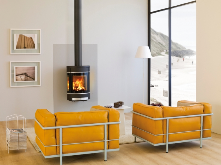 Scan 68 Wall Woodburner Cornwall Wadebridge Redruth