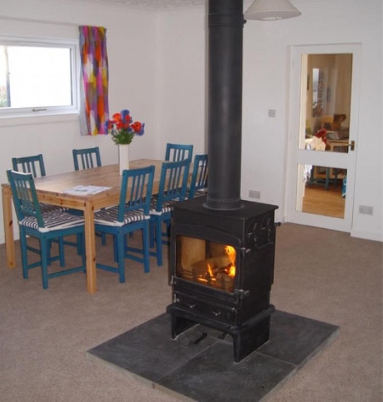 Woodwarm double Sided Stove Woodburner Cornwall Wadebridge Redruth