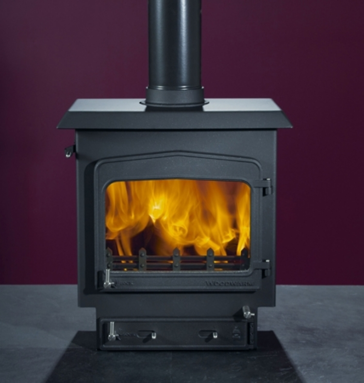 Woodwarm Fireview Slender Woodburner Cornwall Wadebridge Redruth