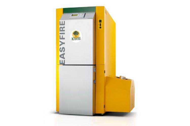 KWB Easyfire biomass boiler Biomass Cornwall Wadebridge Redruth KWB Cornwall