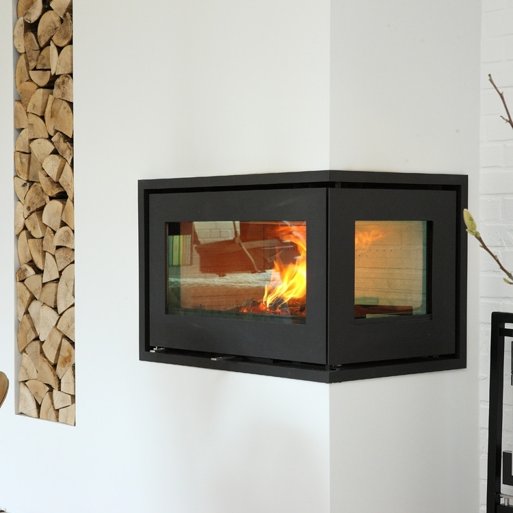Complete Reconstruction Of A Fireplace Wood Burning Stove Installation From Kernow Fires