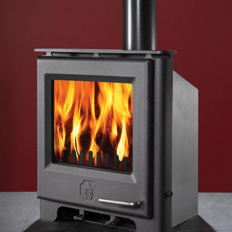 Woodwarm Phoenix Firebright Inset