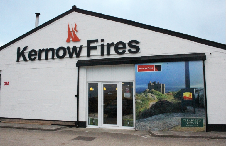 Redruth fireplace showroom