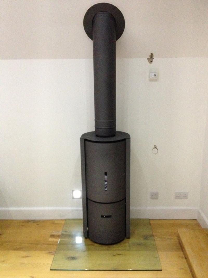 Stuv 30 woodburner Compact Installation Woodburner Cornwall Wadebridge Redruth
