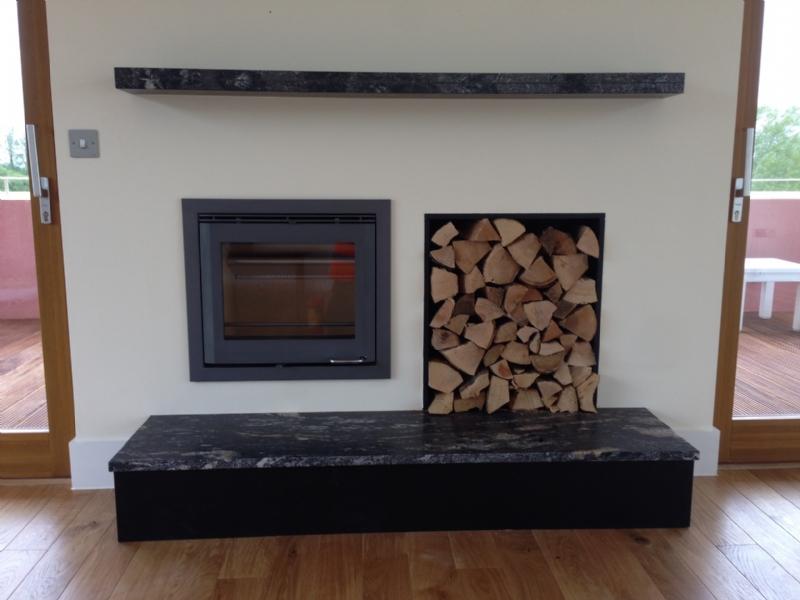 Scan DSA 4-5 wood burner at Lower Mill