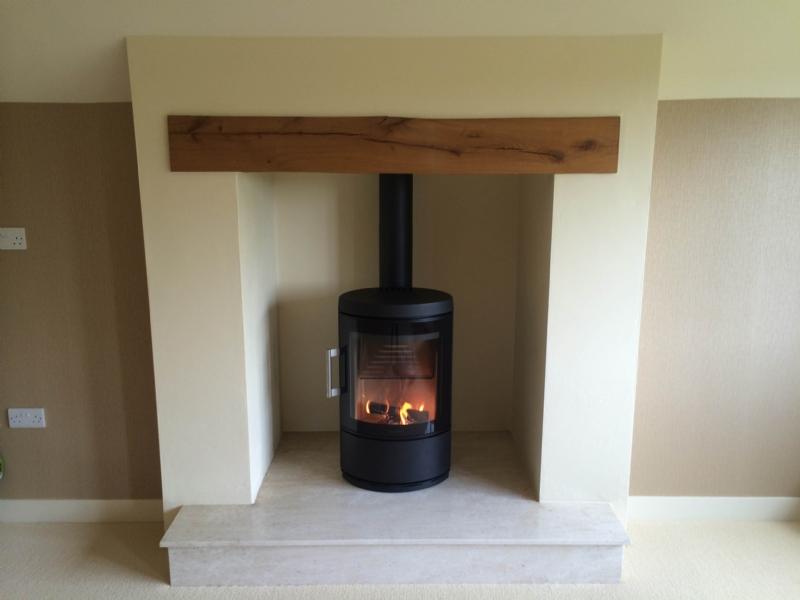 Hwam 3110 Installation Woodburner Cornwall Wadebridge Redruth