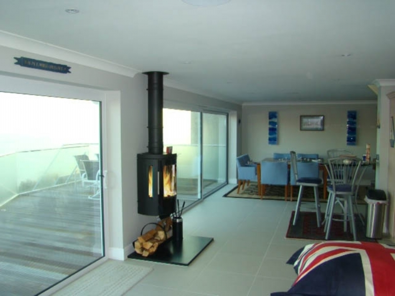 Hwam 3610 Installation Woodburner Cornwall Wadebridge Redruth