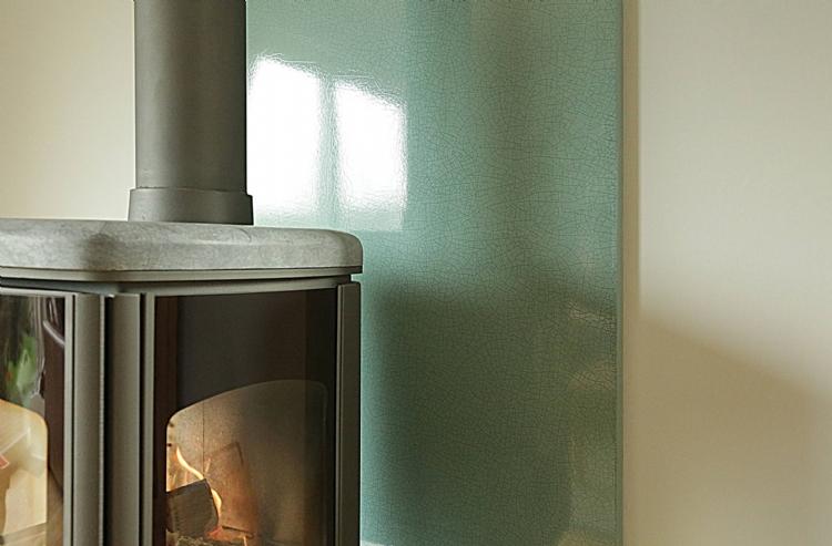 Vlaze crackle glaze heat shields