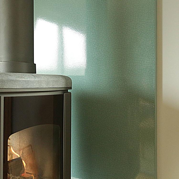 Crackle Glaze Heat Shield