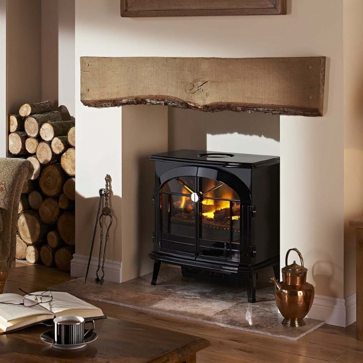 Kernow Fires Are Suppliers Of The Burgate Electric Fire In Cornwall