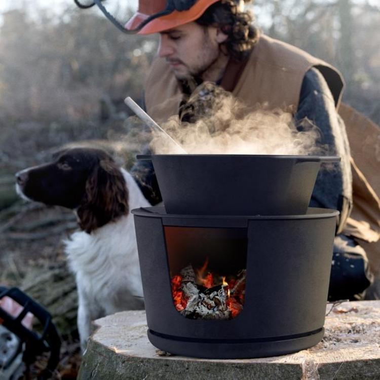 Morso jiko mini outdoor stove, cornwall