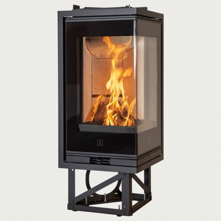 corner woodburner which meets 2022 emissions regulations