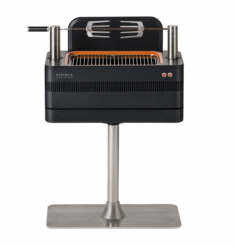 Everdure Fusion Charcoal BBQ from Heston Blumenthal